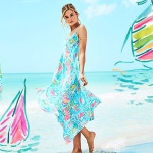 ab32259e7138d2 Lilly Pulitzer Dresses - Lilly Pulitzer You Gotta Regatta maxi dress, large